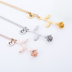 Bridesmaid Gifts - Vintage Alloy Necklace
