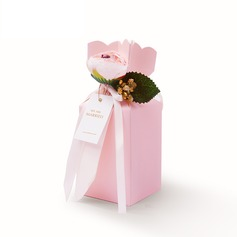 Other Card Paper Favor Boxes With Ribbons