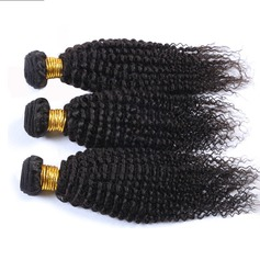 7A Kinky Curly Human Hair Human Hair Weave (Sold in a single piece)