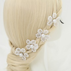 Lovely Crystal/Alloy/Imitation Pearls Hairpins