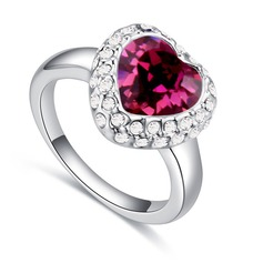 Classic Alloy/Crystal With Crystal Rings