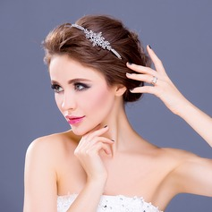 Elegant Rhinestone/Alloy/Silver Plated Headbands