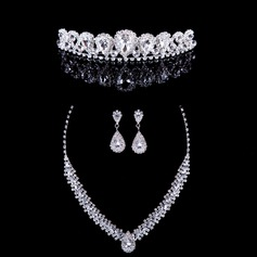 Gorgeous Alloy/Rhinestones With Rhinestone Ladies' Jewelry Sets (011040415)
