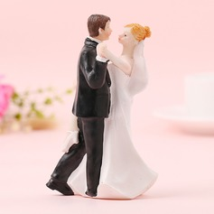 Classic Couple/Sweet Love Resin Cake Topper (Sold in a single piece)