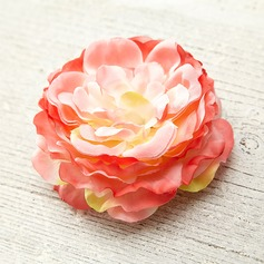 Flower Shaped Silk Fashion Brooches