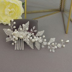 Special Alloy Combs & Barrettes With Venetian Pearl (Sold in single piece)