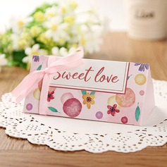 Creative/Classic/Lovely Card Paper Favor Boxes With Ribbons