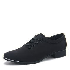 Men's Canvas Lace-up Dress Shoes Men's Oxfords