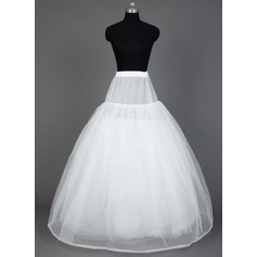 Women Nylon/Tulle Netting Floor-length 8 Tiers Petticoats (037031002)