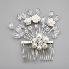 Unique Alloy/Imitation Pearls Combs & Barrettes