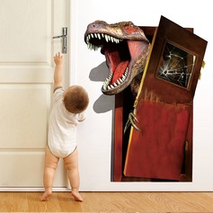 Creative Dinosaur 3D Wall Sticker Wallpaper (Sold in a single piece)