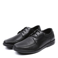 Men's Leatherette Lace-up U-Tip Casual Work Men's Oxfords