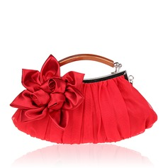 Elegant Silk Clutches/Wristlets/Totes/Bridal Purse/Fashion Handbags/Makeup Bags/Luxury Clutches