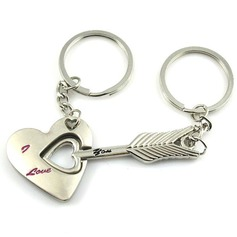 Cupid's Arrow Zinc alloy Keychains