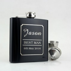 Flasks Fashion Stainless Steel Groom Gifts