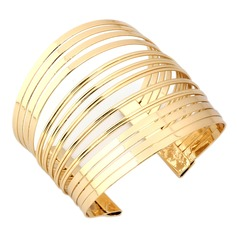 Chic Alloy Gold Plated Ladies' Fashion Bracelets