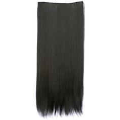 Straight Synthetic Hair Clip in Hair Extensions (Sold in a single piece) 120g
