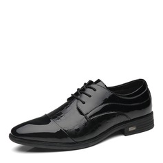Men's Microfiber Leather Cap Toes Dress Shoes Work Men's Oxfords