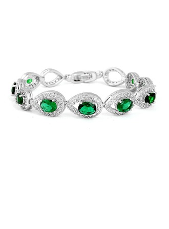 Unique Alliage/Zircon de Dames Bracelets