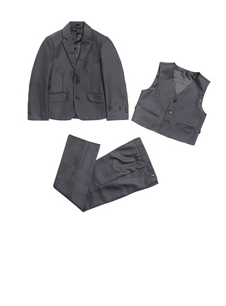 Formal 3 Pc Page Boy Suit (80% Polyester+20% Viscose)