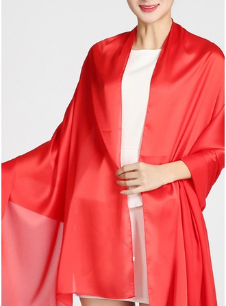 Chal Charmeuse Poncho