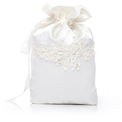 Bridesmaid Gifts - Fashion Vintage Satin Lace Bag