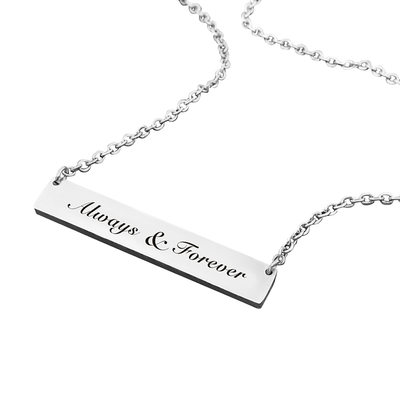 Bridesmaid Gifts - Personalized Elegant Alloy Necklace