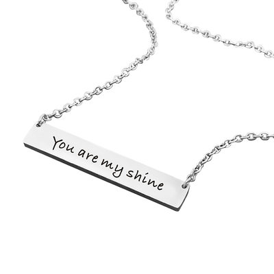 Bridesmaid Gifts - Personalized Classic Alloy Necklace
