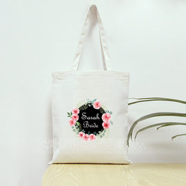 Bride Gifts - Personalized Beautiful Cotton Tote Bag (255179093)
