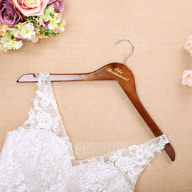 Bridesmaid Gifts - Personalized Wooden Hanger (256184511)