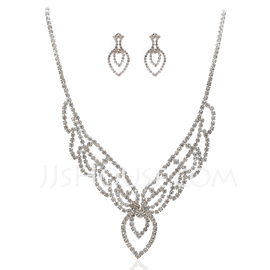 Gorgeous Alloy With Rhinestone Ladies' Jewelry Sets (011027640)