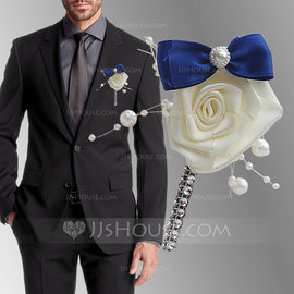 Special Satin Boutonniere (Sold in a single piece) - (123182854)