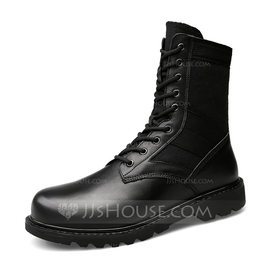 Men's Real Leather Chelsea Casual Men's Boots (261176391)