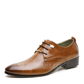 Men's Leatherette Lace-up Dress Shoes Work Men's Oxfords (259172238)