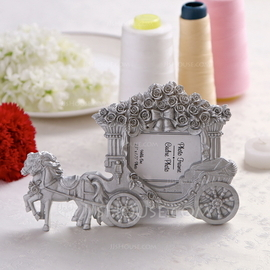 Carriage Design Resin Place Card Holders/Photo Frames (051040154)