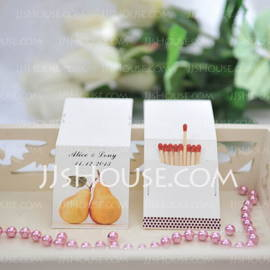 """Personalized """" The Perfect Pair"""" Hard Card Paper (Set of 50) (118031608)"""