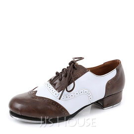 Unisex Real Leather Tap Dance Shoes (053167906)