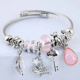 Classic Alloy Women's Fashion Bracelets (Sold in a single piece) (137190135)