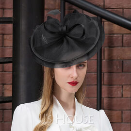 Ladies' Lovely Cambric With Feather Fascinators/Kentucky Derby Hats (196173561)
