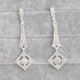 Attractive Alloy With Rhinestone Women's/Ladies' Earrings (011093680)