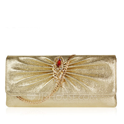 Charming Genuine leather Clutches/Fashion Handbags/Luxury Clutches