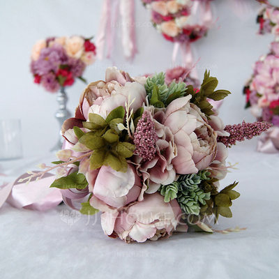 Free-Form Bridal Bouquets/Bridesmaid Bouquets -