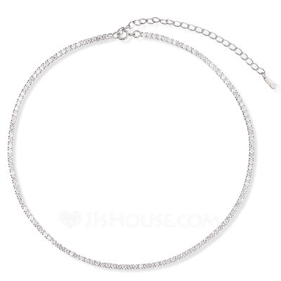 Christmas Gifts For Her - Sterling Silver Choker Necklace