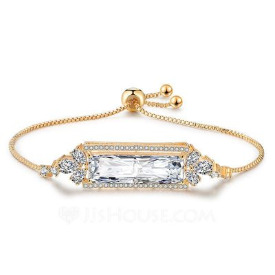Ladies' Shining Alloy/Zircon Bracelets For Bride/For Bridesmaid