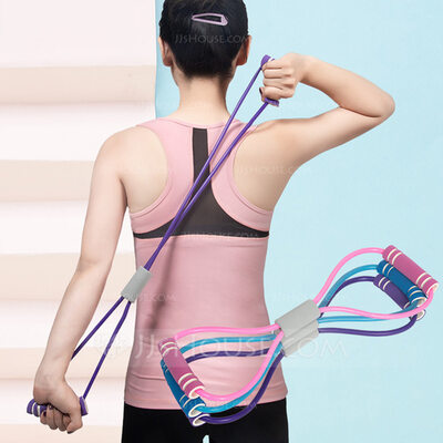 Multifunctional Stretchable Sports TPE MBR Pull Rope
