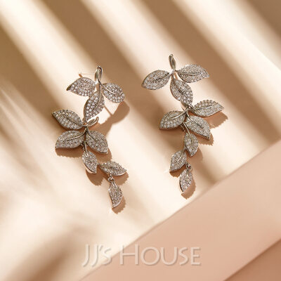 Unique Alloy/Rhinestones Earrings For Her