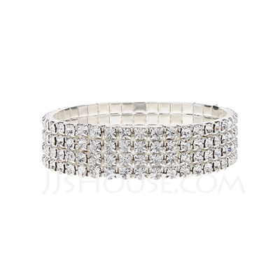 Unique Alloy With Rhinestone Women's Bracelets