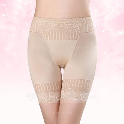 Women Sexy/Elegant/Charming Spandex Breathability High Waist Panty Shapers With Jacquard Shapewear