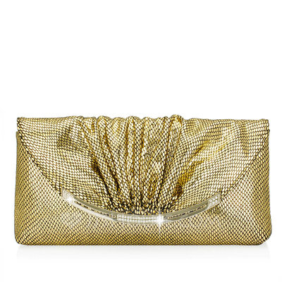 Shining Genuine leather/Sheep Leather Clutches/Fashion Handbags/Luxury Clutches