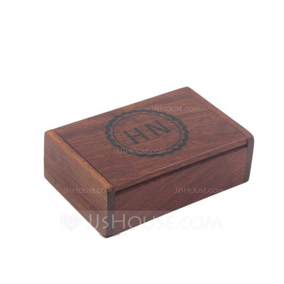 Groomsmen Gifts - Personalized Modern Wooden Cigar Case
